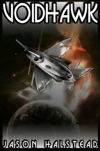 Voidhawk, book 1 in a science fiction / fantasy series by Jason