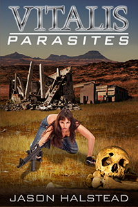 Parasites, book 3 in the Vitalis series by Jason Halstead