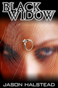 Black Widow, book four in the Lost Girls series, by Jason Halstead