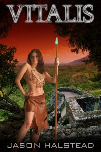 Bestselling sci-fi anthology, Vitalis, by Jason Halstead