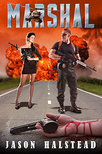 Book 4 in the Wanted series, Marshal, by Jason Halstead
