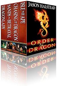Order of the Dragon fantasy omnibus, by Jason Halstead
