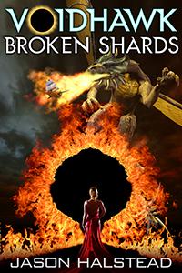 Voidhawk - Broken Shards, book 7 in the Voidhawk series by Jason Halstead