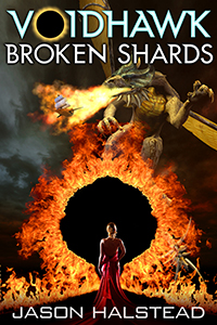 Voidhawk - Broken Shards, book 7 in the Voidhawk series by Jason Halstead