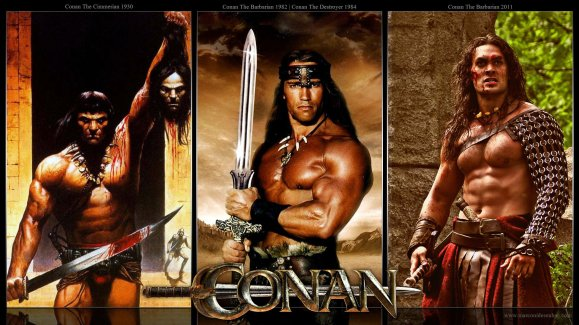 Conan-The-Barbarian-posters-1930-2011